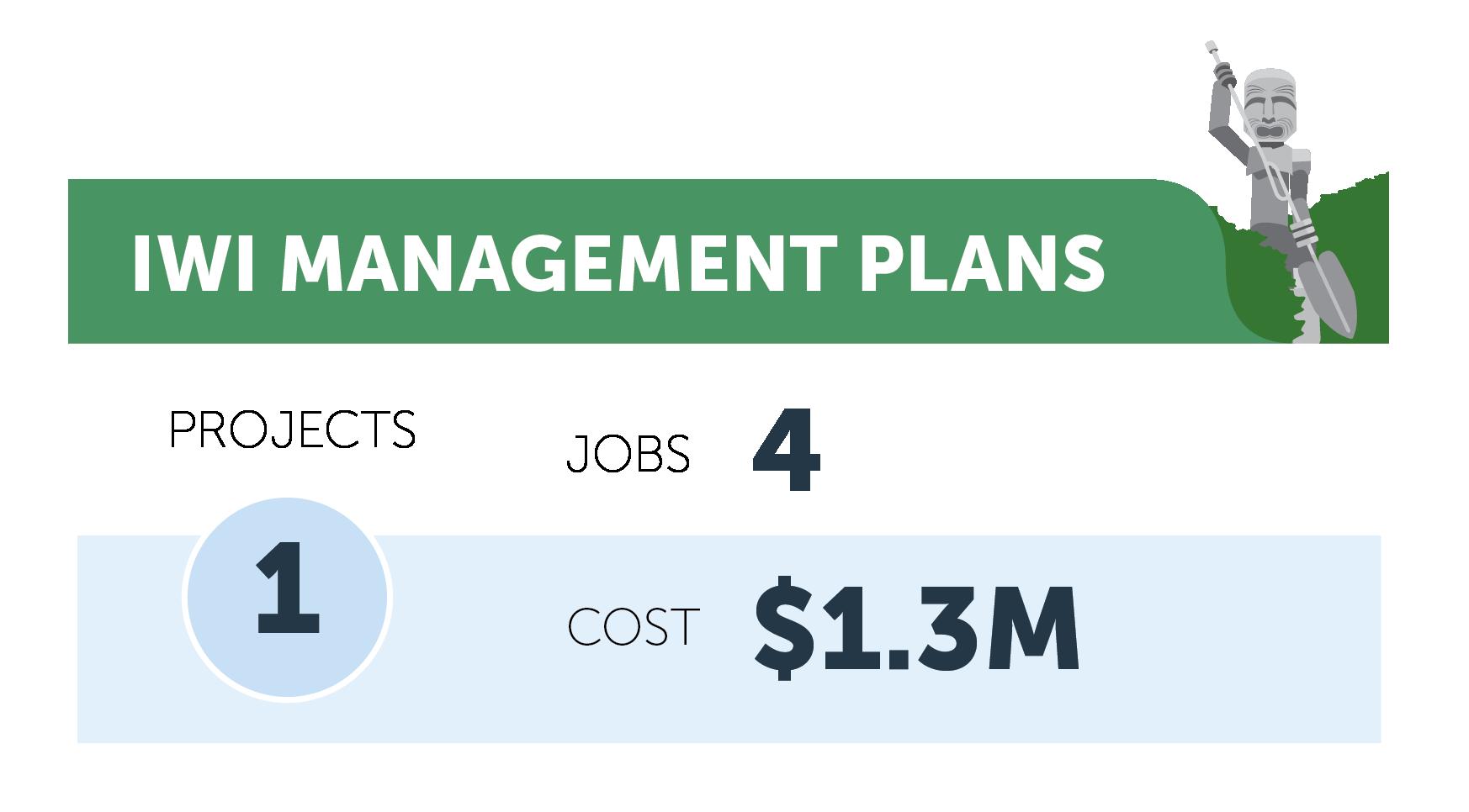 Iwi management plans figures